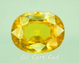 GiL Certified 1.91 ct Natural Zircon Untreated Combodia PR.1