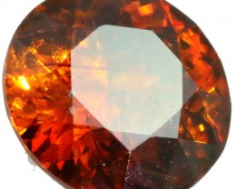 2.15 CTS FACETED FIREY  SPHALERITE  POLISHED-SPAIN [STS 554]