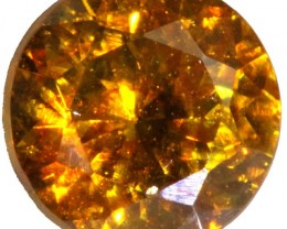 1.10 CTS FACETED FIREY  SPHALERITE  POLISHED-SPAIN [STS 556]
