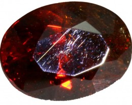 1.05 CTS FACETED FIREY  SPHALERITE  POLISHED-SPAIN [STS 561]