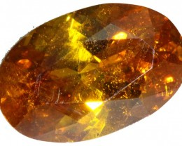3.50 CTS FACETED FIREY  SPHALERITE  POLISHED-SPAIN [STS 562]