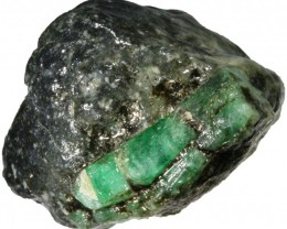 162.00 CTS Australian Curlew Mine Emerald rough Specimens PPP 1136