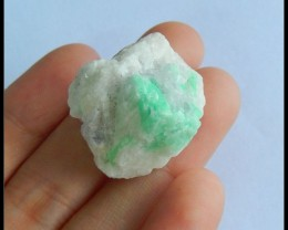 Natural Emerald Heated Treatment Cabochon,28x25x20mm,59.5ct(A315)
