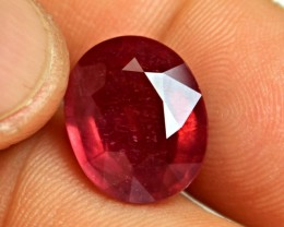 13.3 Carat Fiery Red Ruby - Superb