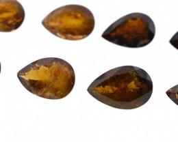 295 cts 57 st Pear Orange & Yellow Tourmaline