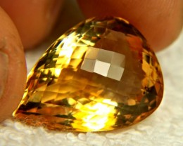 26.6 Carat VVS Golden Brazil Citrine - Superb