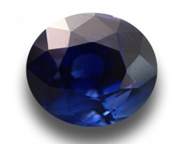 1.99 CTS | Natural Royal Blue sapphire |Loose Gemstone|New| Sri Lanka