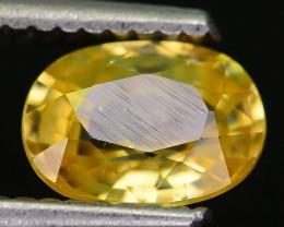Certified 1.69 ct Yellow Combodian Zircon PR.1