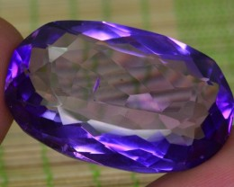41.15 CT NATURAL BEAUTIFUL AMETHYST GEMSTONE FROM AFGHANISTAN