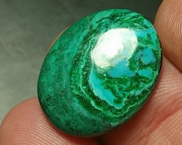 chrysocolla 11ct 20mm dioptase and malachite