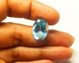 14.34 carats SWISS BLUE Topaz IBQ1