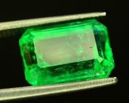 GIL~Cert 3.71 ct Natural Stunning Panjshir Emerald