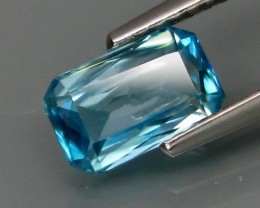 VERY NICE NATURAL BLUE ZIRCON 1.44ct