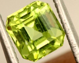 1.1 carats PERIDOT faceted stone from Burma ANGC-673