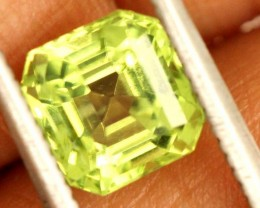 1.5 carats PERIDOT faceted stone from Burma ANGC-676