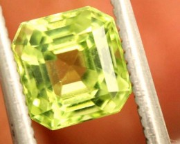 1.1 carats PERIDOT faceted stone from Burma ANGC-677