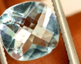 2.2 CTS FACETED AQUAMARINE STONE ANGC-679