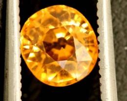 1.4 carats Mandarin Spessartine Garnet untreated ANGC-685