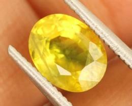 1.8 carats Yellow Sapphire natural ANGC-691