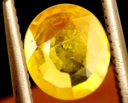 1.1 carats Yellow Sapphire natural ANGC-692