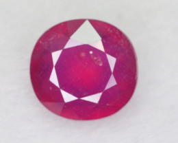 7.25 CT NATURAL RED AFRICAN RUBY GEMSTONE