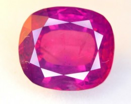 CERTIFIED~NATURAL ~ 5.09 CT RARE KASHMIR RUBY GEMSTONE