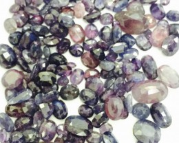 295 ct  Natural Colored Corundum sapphire Lot