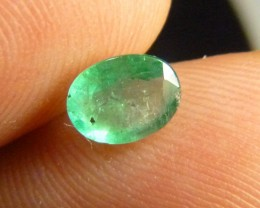 0.99cts  Emerald , 100% Natural Gemstone