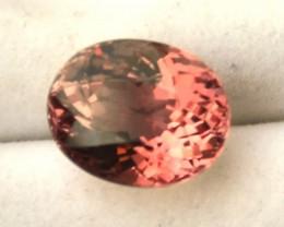 3.90 Carat Oval Cut Fine Pink Tourmaline