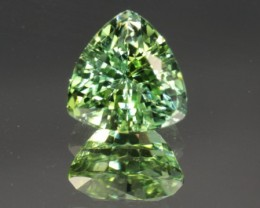 2.62 CT MINT GREEN TOURMALINE - CERTIFIED!