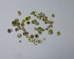 0.91ct  Diamond Parcel, 100% Natural Untreated