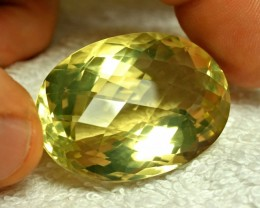 113.5 Carat Golden Brazil VVS1 Citrine - Gorgeous