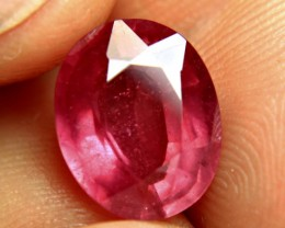 7.62 Carat Fiery Red Ruby - Superb