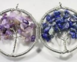 Six Tree of Life Gemstones jewelry  JGG 185