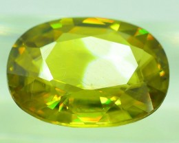 GiL Certified 3.05 ct Natural Green Sphene PR.H
