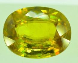 GiL Certified 2.60 ct Natural Green Sphene PR.H
