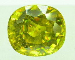 GiL Certified 4.79 ct Natural Green Sphene PR.H