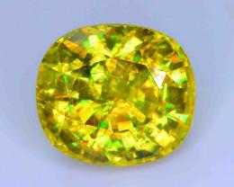 GiL Certified 4.79 ct Natural Green Sphene PR.H
