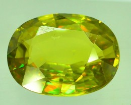 GiL Certified 3.44 ct Natural Green Sphene PR.H