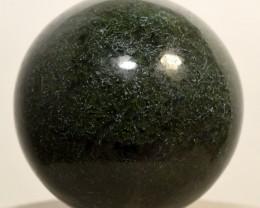 "2"" Natural Green Moss Agate Sphere Crystal Mineral India (STGMAB-NA67)"