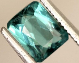 "1.0carats INDICOLITE ""CERTIFIED""natural blue tourmaline ANGC-702"