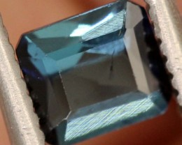 "0.46carats INDICOLITE ""CERTIFIED""natural blue tourmaline ANGC-703"