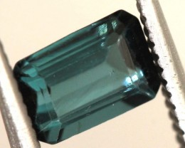 "0.87carats INDICOLITE ""CERTIFIED""natural blue tourmaline ANGC-708"