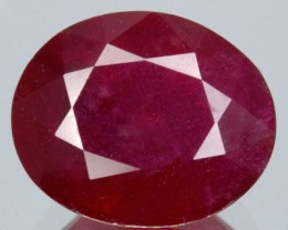 4.78 Cts Natural Red Ruby Oval Cut Thailand Gem