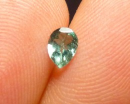 0.34ct Indicolite Tourmaline , 100% Natural Gemstone