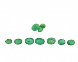 Emerald Parcel/Lot 15.8 cts 10 stones