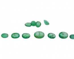 Emerald Parcel/Lot 8.2 cts 11 stones