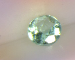 Certified 0.15ct  Pool Blue Paraiba Tourmaline , 100% Natural Gemstone