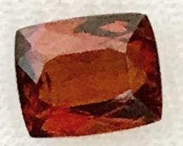 3.85ct Beautiful Red Hessonite Garnet, VVS. Afghanistan