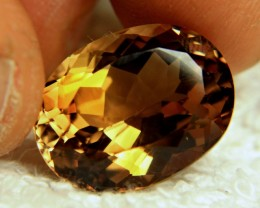 24.88 Carat Brazil VVS1 Golden Brown Topaz - Superb